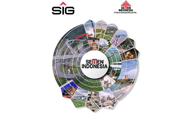 Kargoku - PT Semen Indonesia (Persero) Tbk (IDX: SMGR) - (SIG) - Semen Indonesia adalah produsen semen terbesar di Indonesia. Pada 20 Desember 2012 PT Semen Indonesia Tbk resmi mengganti namanya dari sebelumnya PT Semen Gersik (Persero) Tbk. Diresmikan di Gersik pada tanggal 7 Agustus 1959 oleh Presiden RI pertama dengan kapasitas terpasang 250.000 ton semen pertahun.