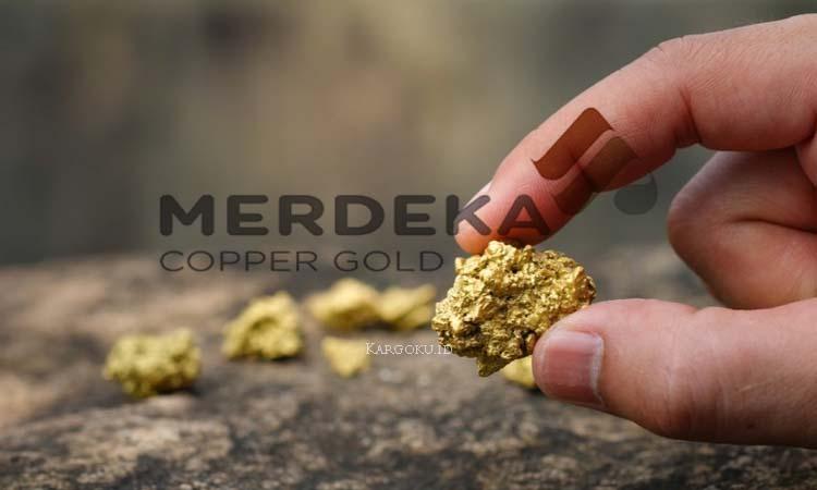 Kargoku - PT Merdeka Copper Gold Tbk (IDX: MDKA) - Merdeka Copper Gold adalah perusahaan induk dengan anak perusahaan yang bergerak dalam bidang usaha pertambangan. Lini bisnis usaha pertambangan Merdeka meliputi eksplorasi dan produksi emas, perak, tembaga, mineral serta layanan pertambangan.